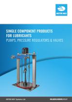Single Component Products - for Lubricants
