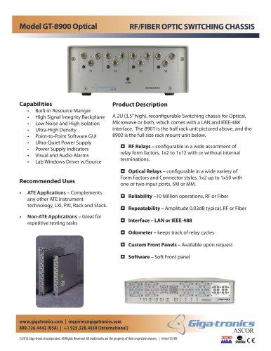 ASCOR 8900 Series Fiber Optic Switch