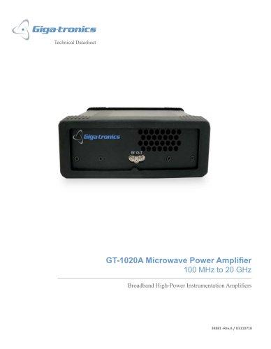 GT-1020A Microwave Power Amplifier
