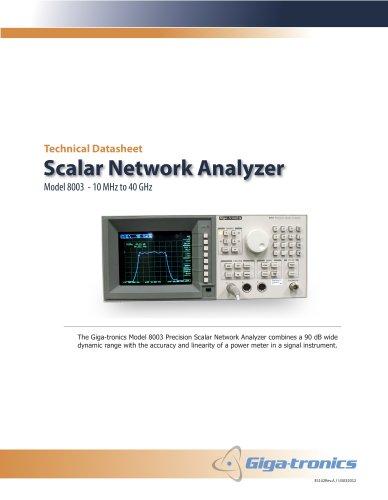 Model 8003 - Scalar Network Analyzer