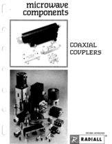 Coaxial Couplers - 1