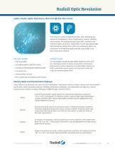 Fiber optics Full line catalog - 10