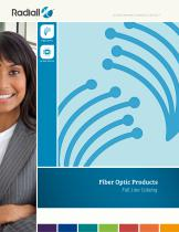 Fiber optics Full line catalog - 1