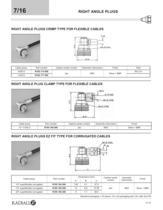 RF Coaxial Connectors 7/16 Series - 12