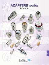 RF Coaxial Connectors Adapters Between Series - 1