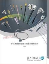RF & Microwave Cable Assemblies new edition (RG, ECO, Semi-rigid, Corrugated...) - 1