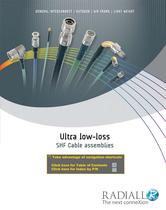 Ultra-Low Loss SHF Cable Assemblies - 1