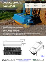 Agricultural Sweeper Datasheet - 1