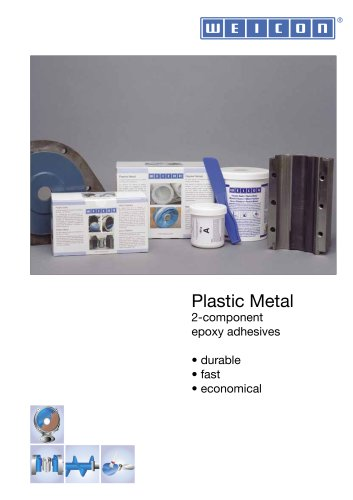 Plastic Metal 2-component epoxy adhesives