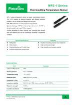 MFE-1 Series / Overmoulding Temperature Sensor