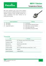 MFP-7 Series Temperature Sensor