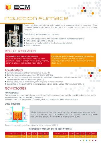 Induction furnaces - VIM