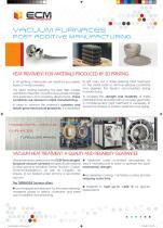 VACUUM FURNACES - ADDITIVE MANUFACTURING - Heat treatment POST 3D printing