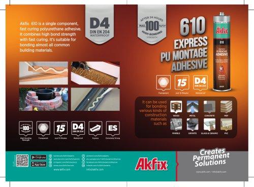 610 Express Pu Montage Adhesive