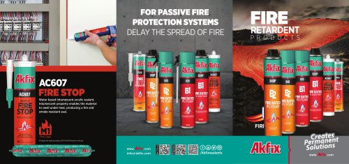 For PASSIVE FIRE PROTECTION SYSTEME
