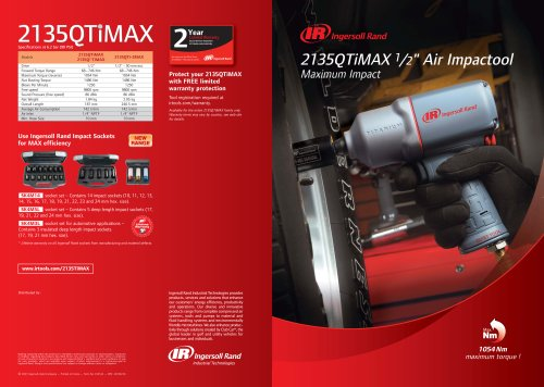 2135QTiMAX Air Impactool