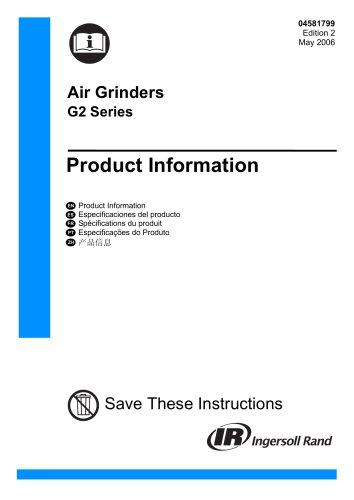 Air Grinders G2 Series