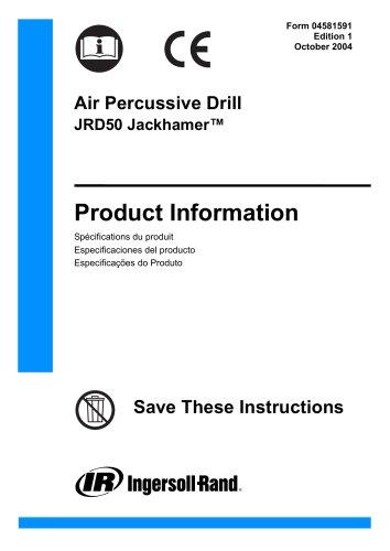 Air Percussive Drill JRD50 Jackhamer?