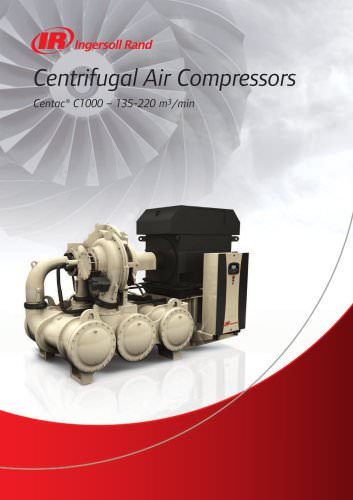 Centrifugal Air Compressors Centac C1000 - 2012