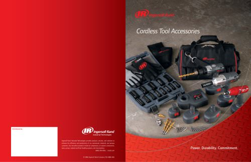 Cordless Accessories Catalog