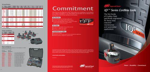 IQV™Series Cordless tools