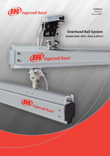 OVERHEAD RAIL SYSTEM, SELECTION GUIDE