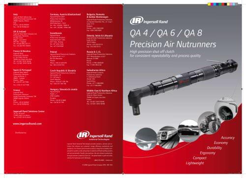 QA 4 / QA 6 / QA 8 Precision Air Nutrunners