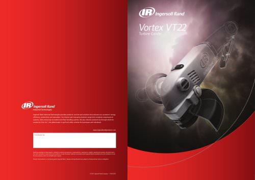 VT22 Vortex Turbine Grinder Brochure