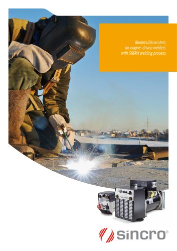 Welders/generators for engine-driven welders | IP23