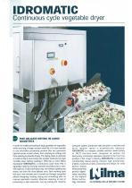 IDROMATIC- Continuous cycle vegetable spin dryer