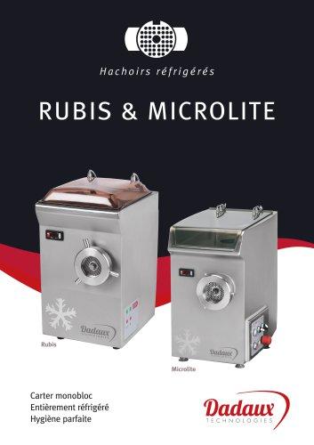 Hachoirs réfrigérés RUBIS & MICROLITE