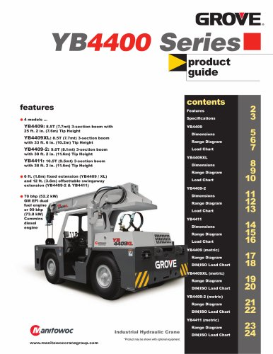 Grove YardBoss Industrial YB4409XL