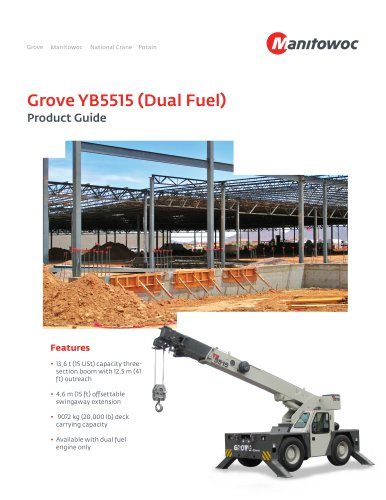 Grove YB5515 (Dual Fuel)