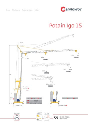 Potain Igo 15
