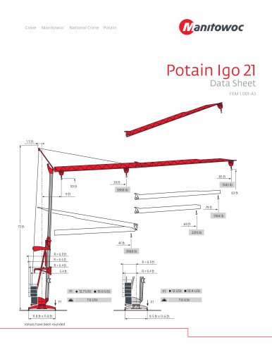 Potain Igo 21