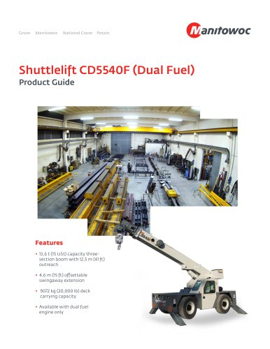 Shuttlelift CD5540F (Dual Fuel)