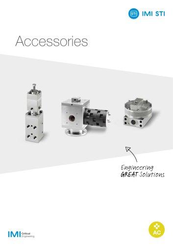 Brochure accessories