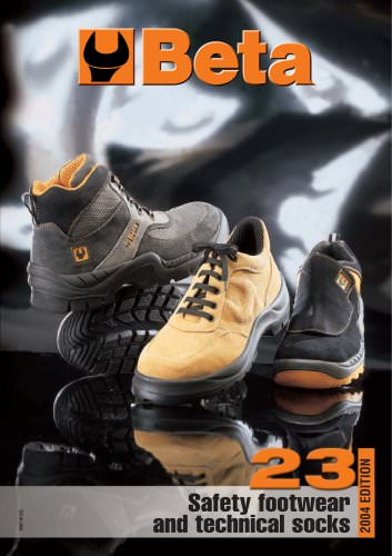 Safety Shoes and Technical Socks Catalogue