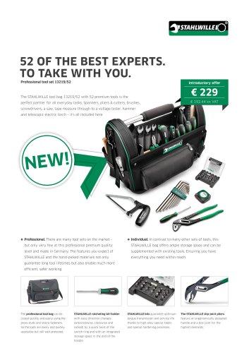Professional tool set 13219/52