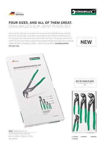 Slip-joint pliers set