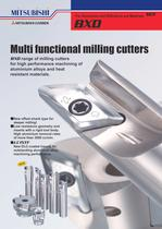 High performance milling cutters for aluminium and heat resistant materials.