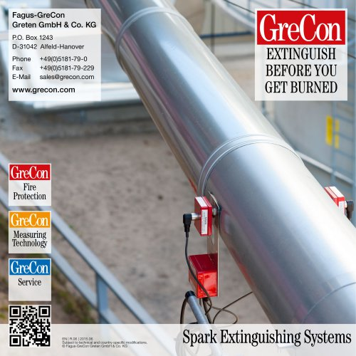 BS 7 - Spark Extinguishing Systems