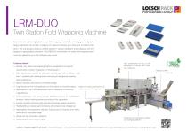 LRM-DUO chewing gum/confectionery