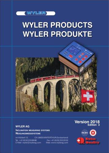 WYLER CATALOGUE 2018
