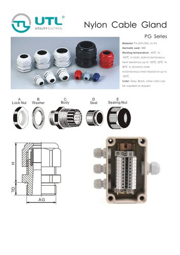 Plastic Cable Gland-PG & M series
