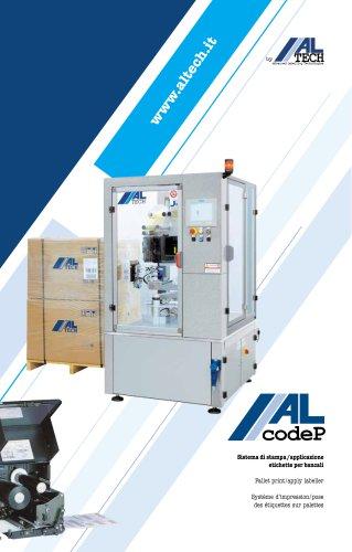 Pallet print/apply labeller