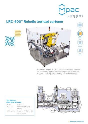LRC-400™ Robotic top load cartoner