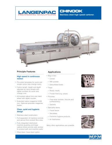 Stainless Steel High Speed Cartoner: CHINOOK