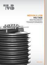 MEDIUM &LOW VOLTAGE INSTRUMENT TRANSFORMERS