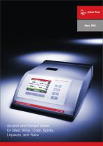 Alex 500-Alcohol and Extract Meter for Beer, Wine, Cider, Spirits, Liqueurs, and Sake_Alex 500Alex 500Alcohol and Extract Meter for Beer, Wine, Cider, Spirits, Liqueurs, and Sake_C97IP003EN-A